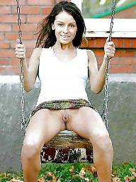 Upskirt, Voyeur, Wide open, Wide, Open, Public nudity
