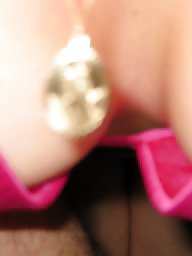Satin, Lingerie, Blond, Pink, Amateur lingerie