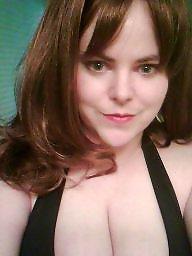 Bbw tits, Redhead, Red
