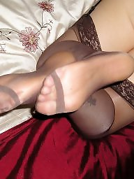 Feet, Nylon, Nylon feet, Nylons feet, Girlfriend
