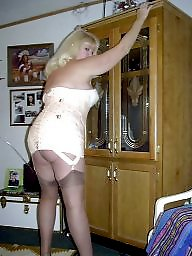 Girdle, Milf stockings, Girdle stockings