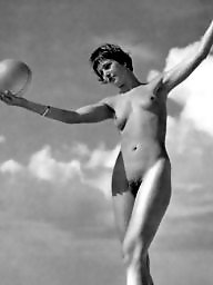 Lady, Balls, Vintage amateur, Ball