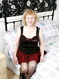 Old granny, English, Granny stockings, Granny stocking, Old milf, Stocking milf
