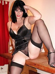 Uk milf, Wives, Sexy stockings