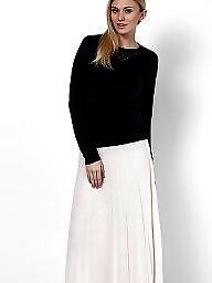 Skirt, White, Skirts