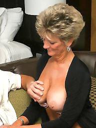 Femdom, Mature femdom, Boobs, Mature boob
