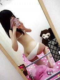 Lingerie, Japanese amateur, Student, Amateur lingerie, Japanese babe