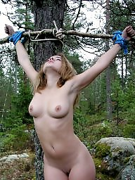 Tied, Forest, Tie, Amateur bdsm