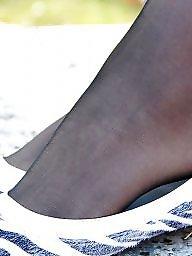 Nylon, Upskirt, Nylons, Stocking, Nylon upskirt, Pantyhose upskirt
