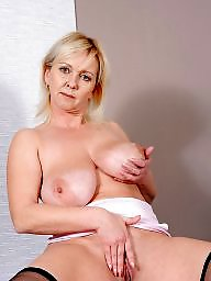 Blonde mature, Mature boobs, Mature blonde