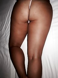 Bed, Wife ass, Unaware