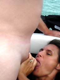 Mature group, Threesome, Group, Boat, Mature threesome, Hardcore