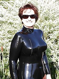 Latex, Mature porn, Rubber