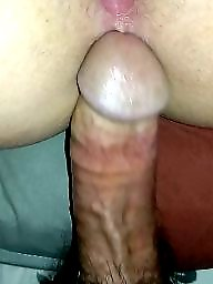 Anal creampie, Creampies, Amateur anal