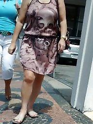 Street, Mature lady, Lady