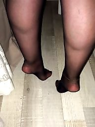 Nylon feet, Russian, Feet, Footjob, Nylons feet, Nylon stockings