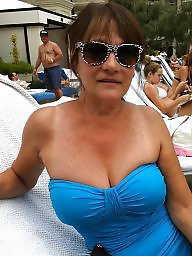 Swimsuit, Voyeur, Swimsuits, Amateur granny, Amateur grannies, Milf granny