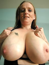 Bbw mature, Mature boobs