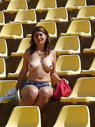 Mature beach, Candid, Mature flashing, Beach mature