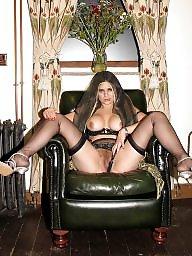 Mature, Mature stocking, Horny, Horny mature