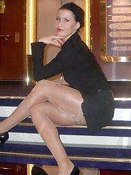Tights, High heels