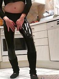Latex, Sissy, Amateur stockings