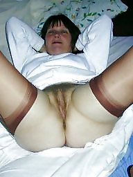 Hairy, Pants, Double, Mature flashing, Pant, Hairy matures