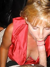Used, Mature blowjob