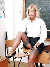 Milf, Teacher, Milfs, Teachers, Milf stockings