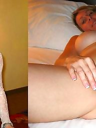 Wives, Before, Mature slut, Before and after