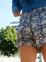 Short, Hidden, Romanian, Shorts, Spy cam, Sexy ass