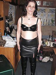 Pvc, Leather, Mature pvc, Milf leather, Mature mix, Mature leather