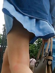 Old and young, Skirt, Romanian, Teen skirt, Old, Leg