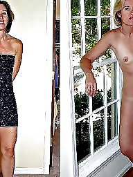Dressed undressed, Dressed, Mature mix, Undressing, Mature dress, Undressed