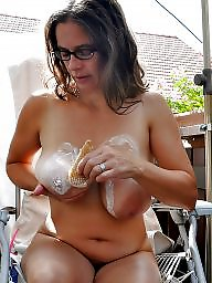 Glasses, Mature big boobs, Mature glasses, Glass, Big mature