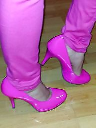 Shoes, Pump, Pants, Shoe, Pink, Wife amateur