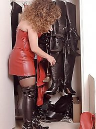 Latex, Leather, Pvc, Boots, Mature latex, Mature boots