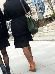 Nylon, Skirt, Nylons, Spy, Romanian, Teen skirt
