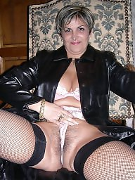 Mature boobs, Milf stockings, Stocking milf