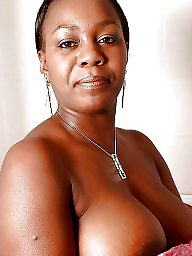 Ebony milf, Titties, Black milf