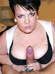 Double, Bbw blowjob, Mature blowjob, Blowjob mature