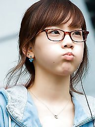Glasses, Korean, Wear, Korean celebrities