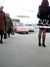 Nylons, Street, Amateur nylon