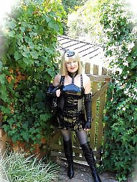 Latex, Leather, Boots, Pvc, Mature boots, Mature leather