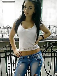 Jeans, Amateur teen, Tight, Tights, Latin teen
