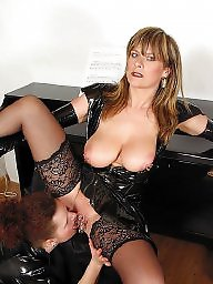 Piercing, Pierced, Stockings mature, Stocking milf, Beautiful mature