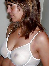 A bra, Nipples