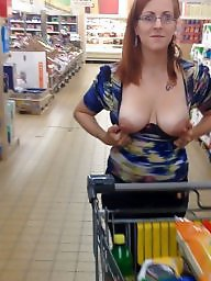 Mature slut, Shopping, Shop