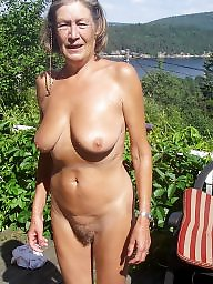 Mature granny, Mature blowjob