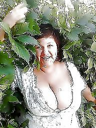 Outdoor, Huge, Mature outdoor, Huge boobs, Outdoors, Outdoor mature